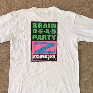 Controlled Burn Brain Dead Party Zombies Vintage